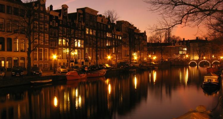 Amsterdamas vakaras