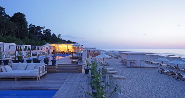 jurmala legend beach restaurant