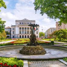 Latvia Riga Opera House Depositphotos