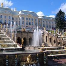 Sankt Peterburgas Peterhofas 3796359