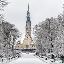 Čestachovos vienuolynas žiema 275736727